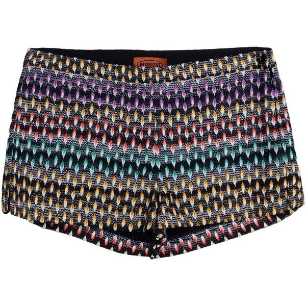 Missoni Shorts ($340) ❤ liked on Polyvore