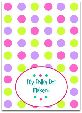 My Polka Dot Maker C Polka Dot Background Rainbow Polka Dots