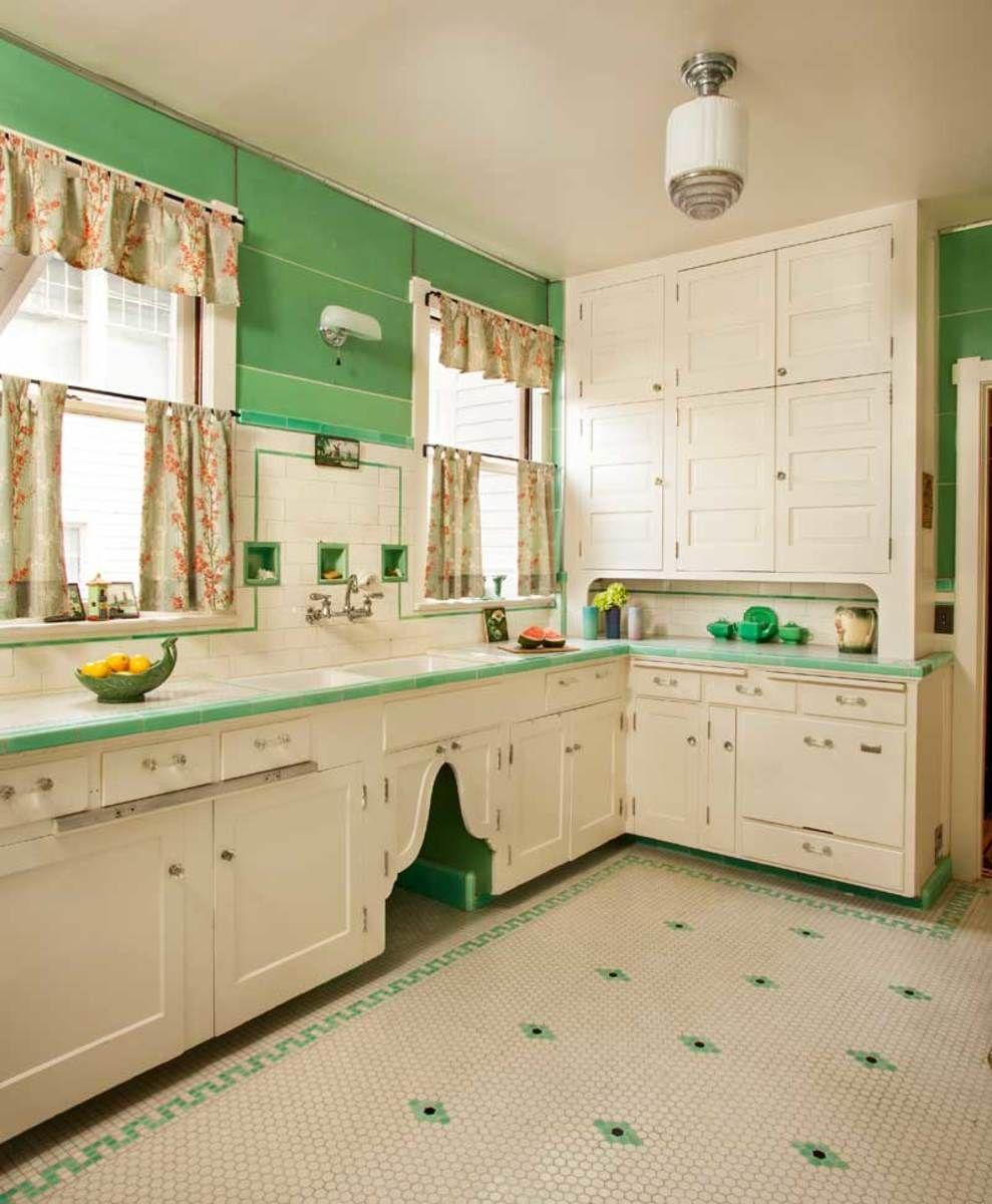 Kitchen in Mint Condition #vintagekitchen