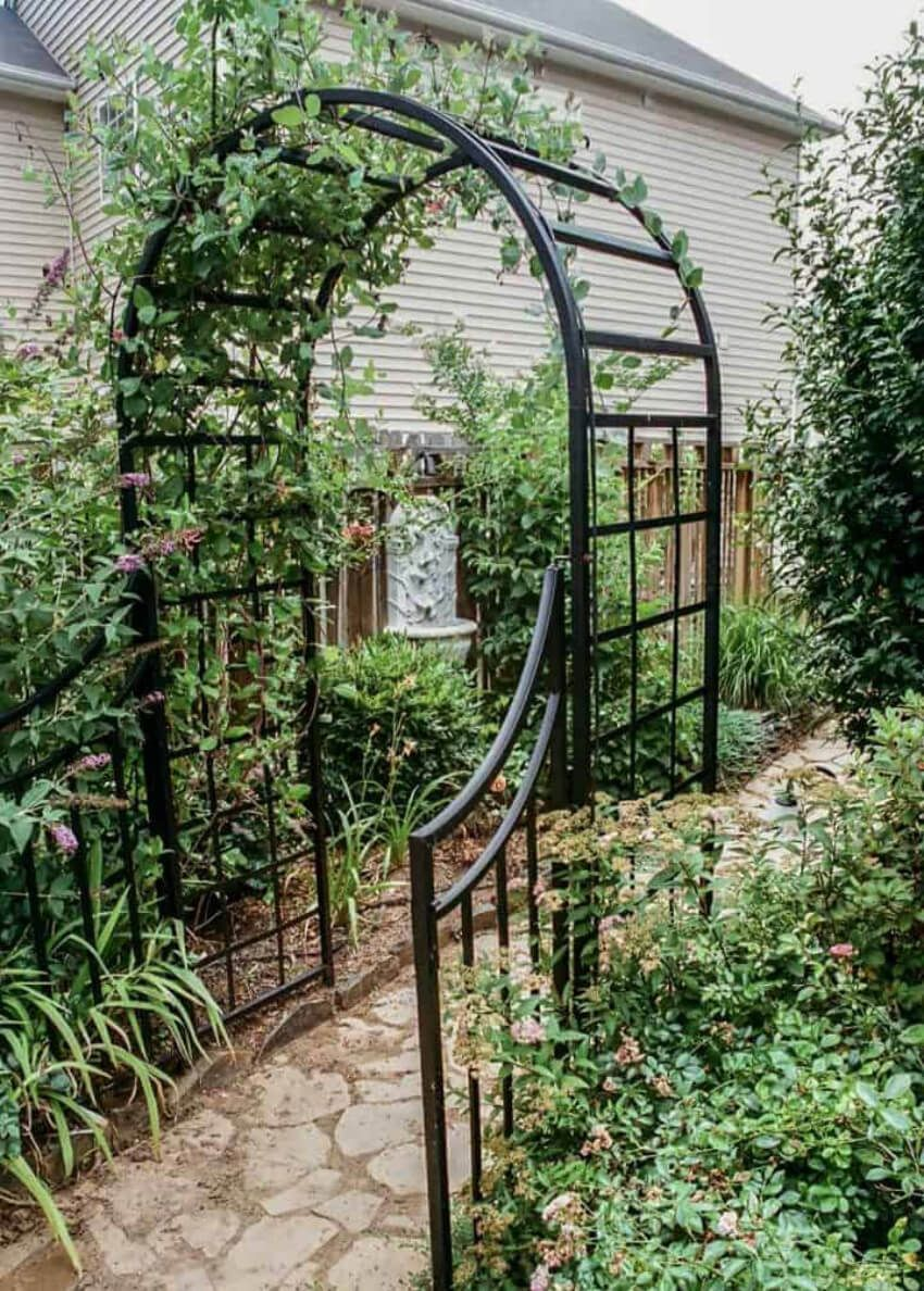 6 Gorgeous Garden Arches And What To Plant On Them Garden Arches - Pergola Over Terrasse