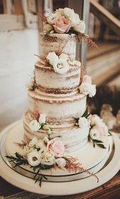 Photo of 36 Rustikale Hochzeitstorten, die wir lieben #OctoberWedding…