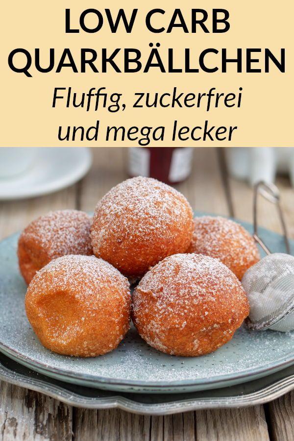 Low Carb Quarkbällchen – Dessert ohne Zucker