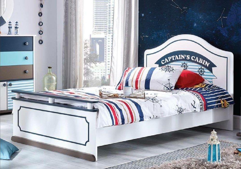 Παιδικό κρεβάτι ημίδιπλο Marin 1834(1.20 Χ 2.00