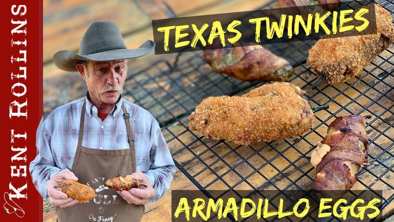 Jalapeno Poppers 2 Ways | Texas Twinkies and Armadillo Eggs