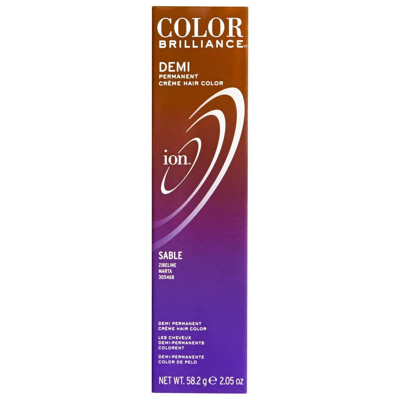 Ion Color Brilliance Master Colorist Series Demi Permanent Creme Hair Color Sable For More Informa Hair Color Ion Color Brilliance Semi Permanent Hair Color