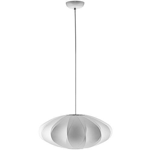 Midcentury modern modway crest chandelier in white