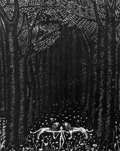 Naftali Rakuzin's wonderful illustrations for Tristan and Isolde.