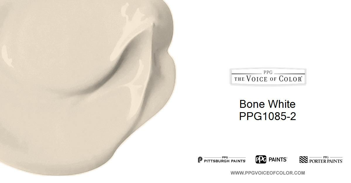 Bone White Is A Part Of The Off Whites Collection By Ppg Voice Color Browse This Paint And Additional Collections For More
