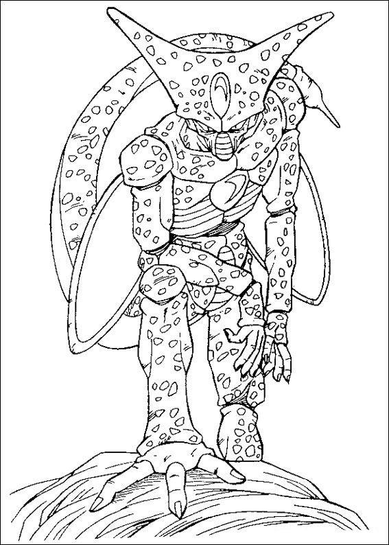 Dragon Ball Z Ausmalbilder. Malvorlagen Zeichnung druckbare nº 70 ...