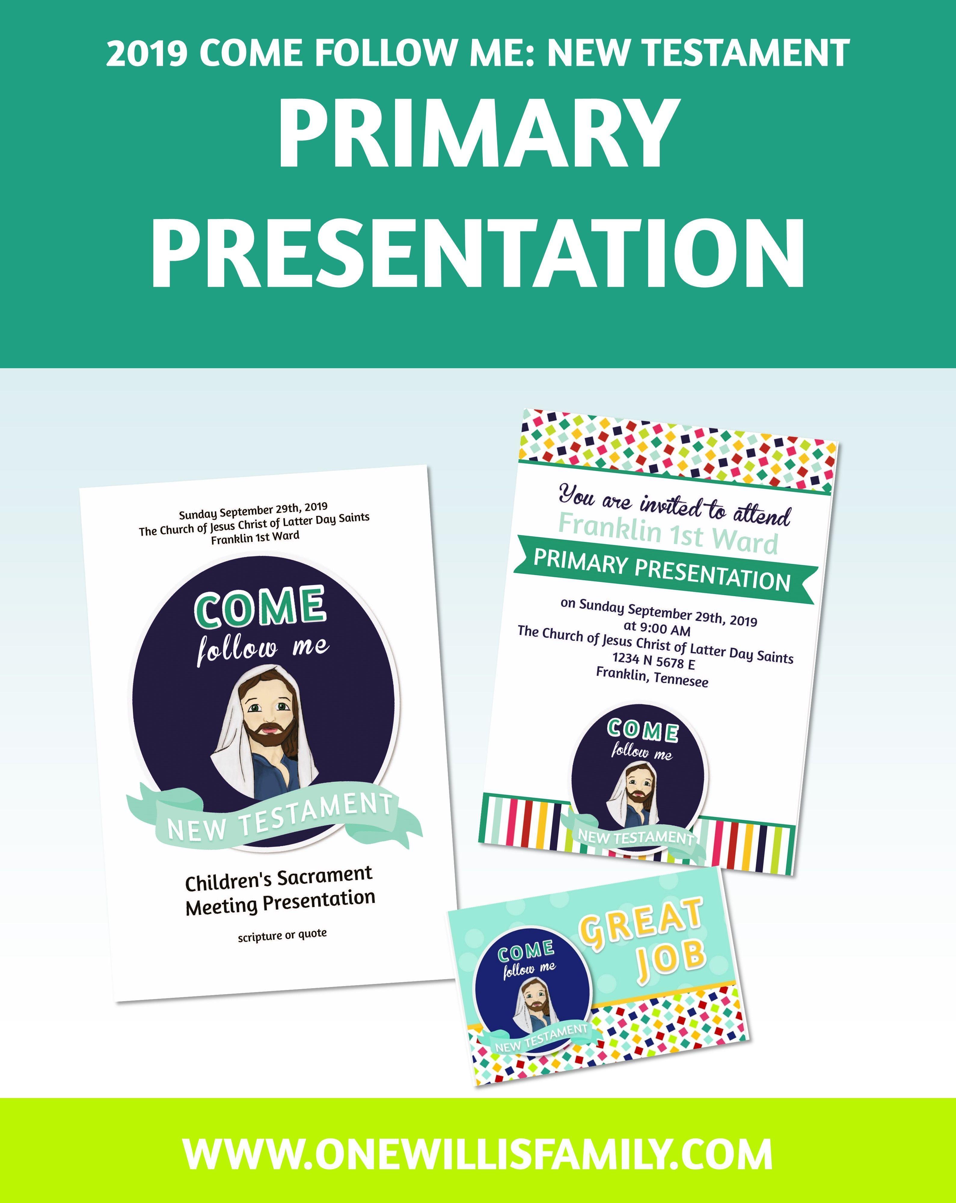 Primary Theme Printables