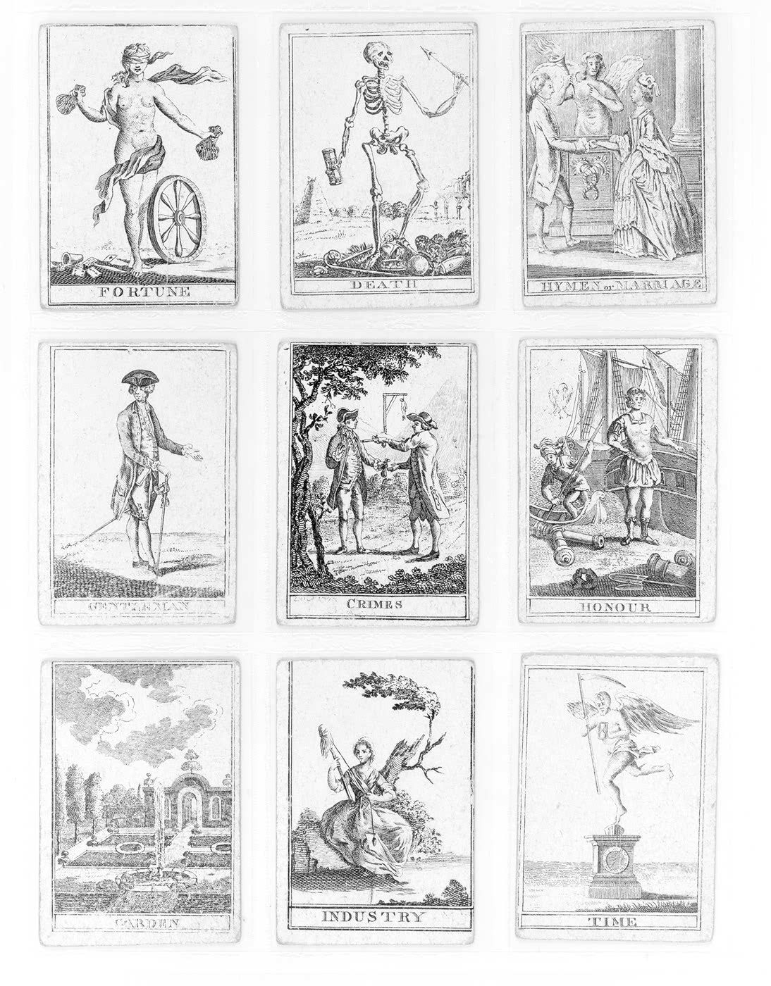 This is a picture of Unforgettable Free Printable Tarot Cards Pdf