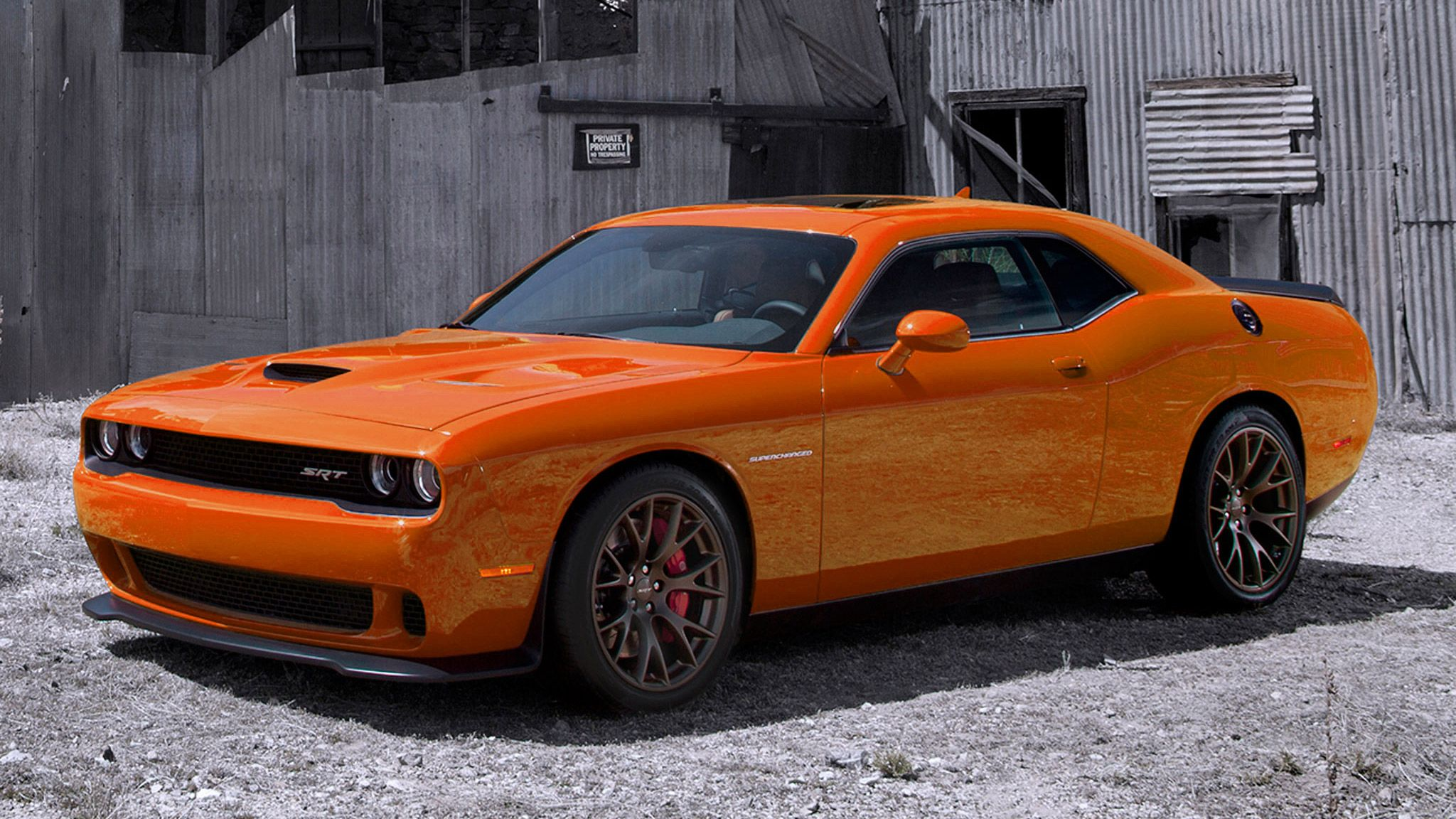 Even though this hellcat is a challenger and not a 4 door charger still love the color and look of this little gem