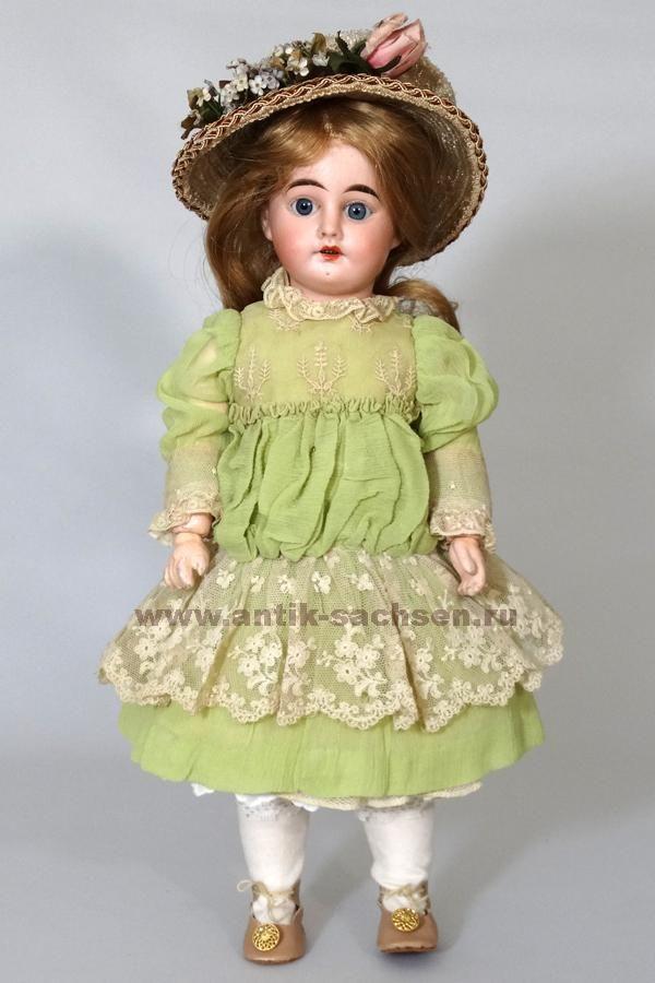 Антикварный салон «Саксония» Антикварная кукла ...