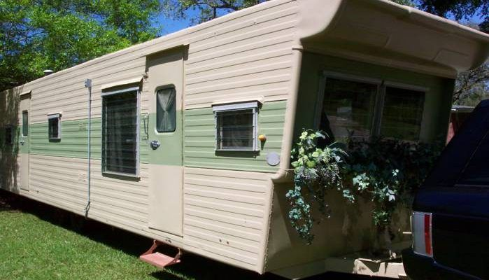1957 Casa Manana 2 Bedroom Travel Trailer