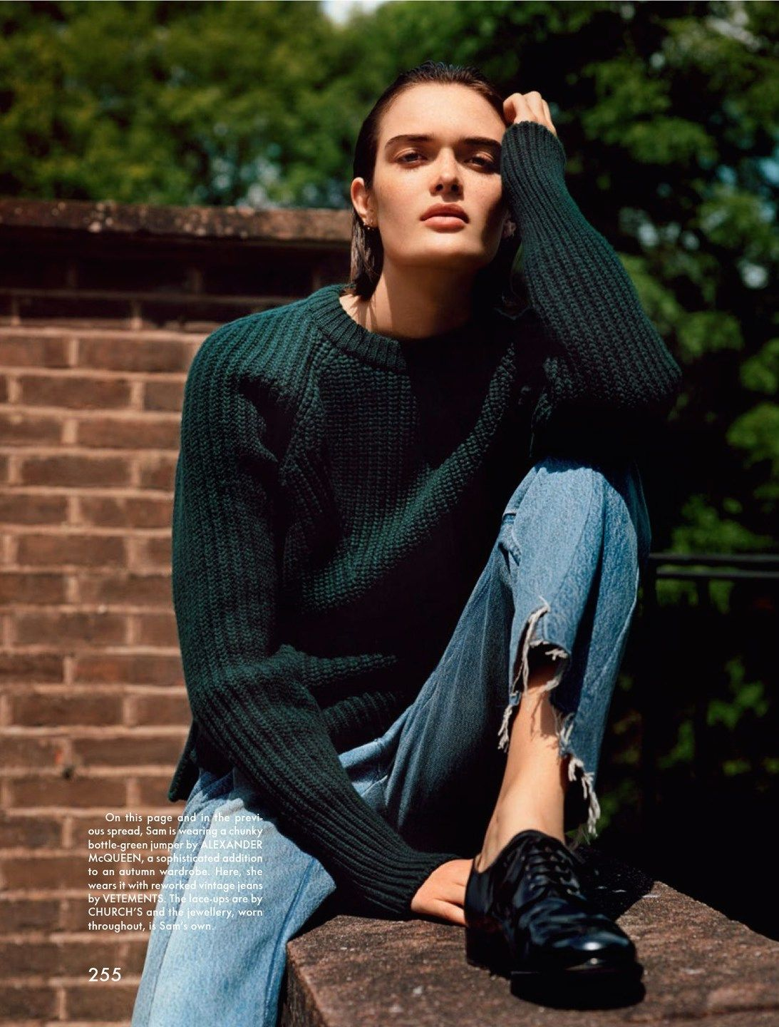 sam rollinson by alasdair mclellan for the gentlewoman #10 autumn / winter 2014