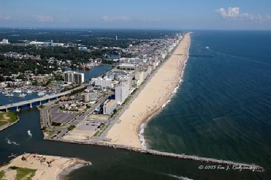 Rudee Inlet Virginia Beach Oceanfront Photo Places To Travel