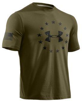 00e3fffee6 Under Armour® Freedom T-Shirt for Men - Short Sleeve | Bass Pro Shops
