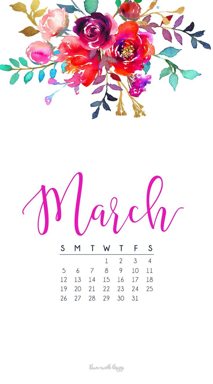 March Wallpapers Are Here By Chloe March Calendar Calendar
