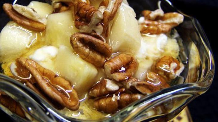 Honeyed Banana Nut Yogurt