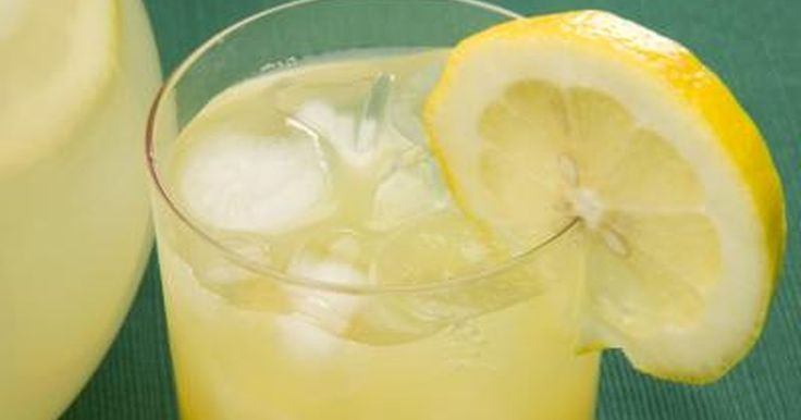 Limonade Wurde Zunehmend In Diat Programmen Als Ein Hilfsmittel Zur
