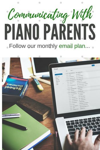 Photo of A monthly plan for piano parent communication (that's easy!)