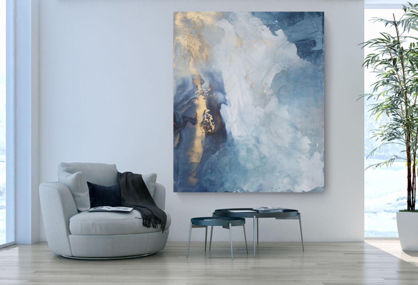 Original Painting Aurora By Julia Contacessi