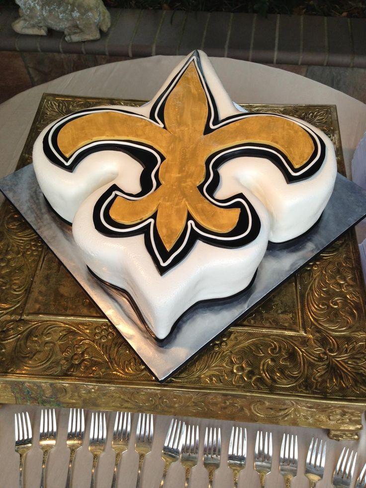 New Orleans Saints Cake Saints Chic In 2019 Birthday