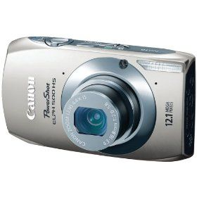 Canon PowerShot ELPH 500 HS 12.1 MP CMOS Digital Camera with Full HD Video and Ultra Wide Angle Lens (Silver) Price:$209.99 & this item ships for FREE with Super Saver Shipping