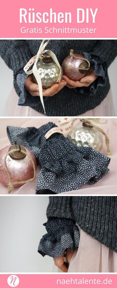 Rüschen-Manschette DIY | Pinterest | Geschenke für die besten ...