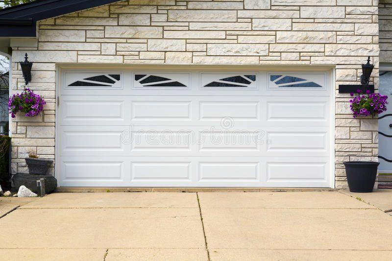 Garage Door Double White Wooden Garage Door Spon Double Door Garage Garage Wooden Ad Garage Doors Door Repair Double Garage Door
