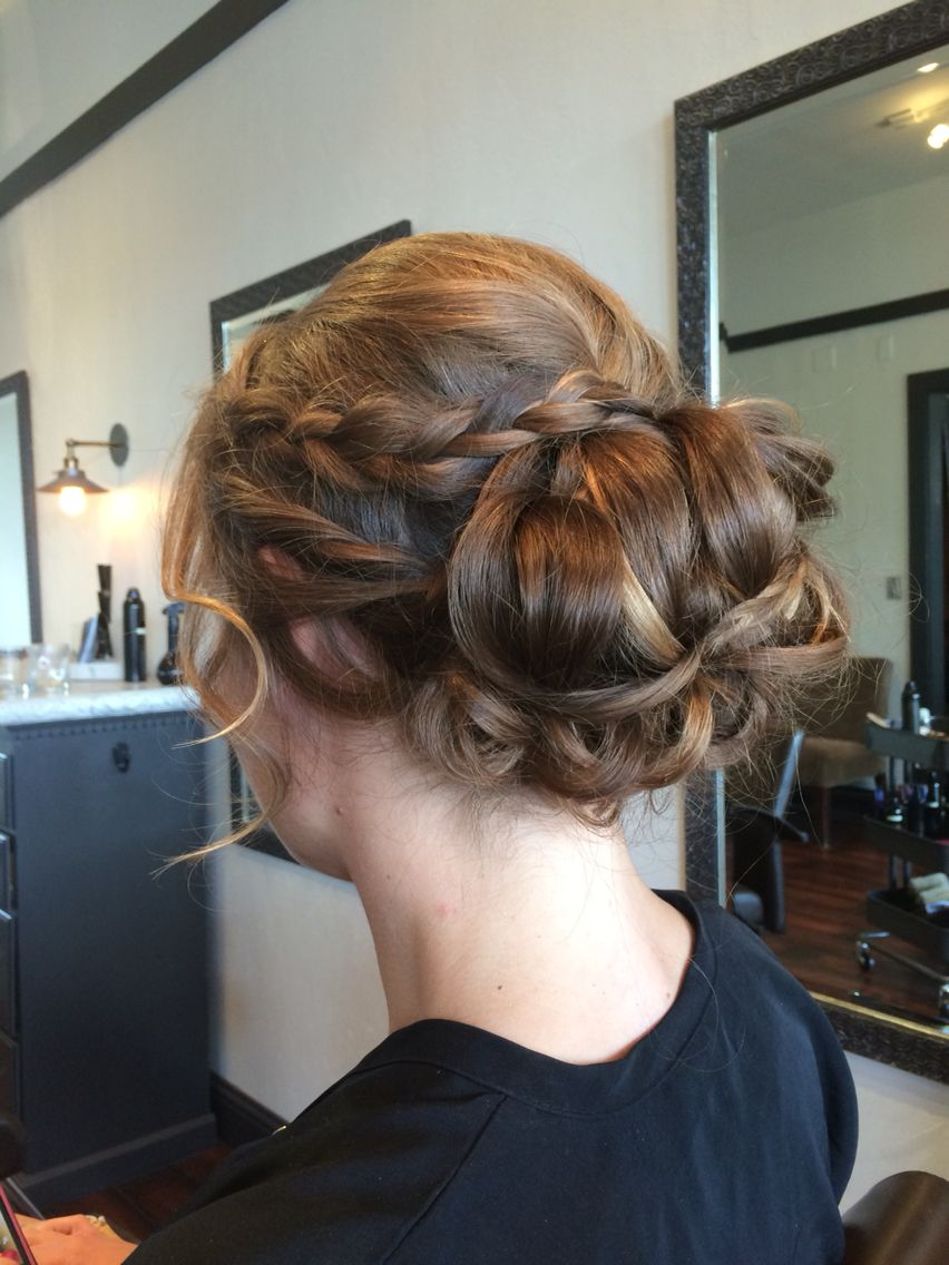 Updo for a formal event by angela rose hair by angela rose