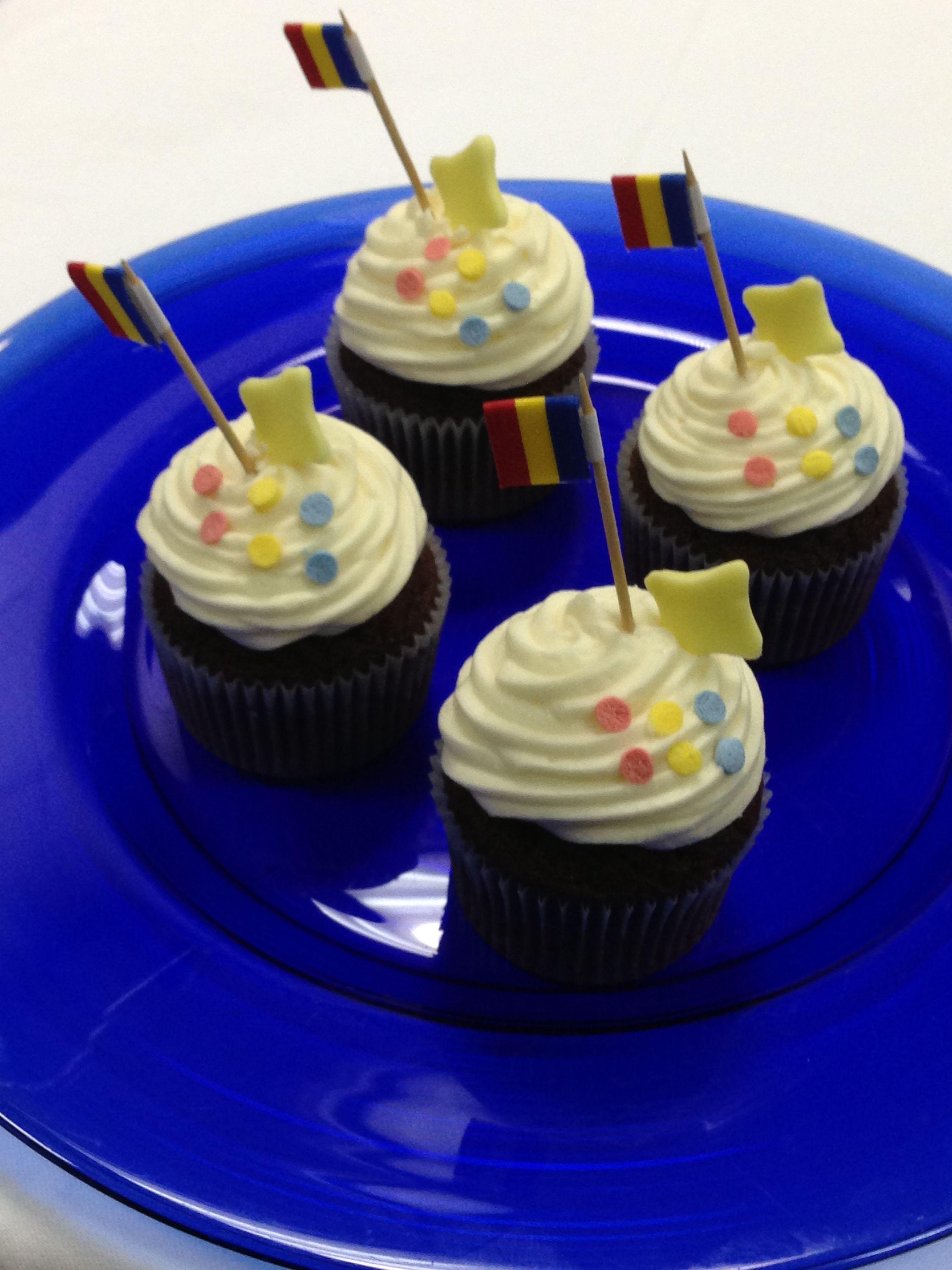 Cupcake diada de Meritxell