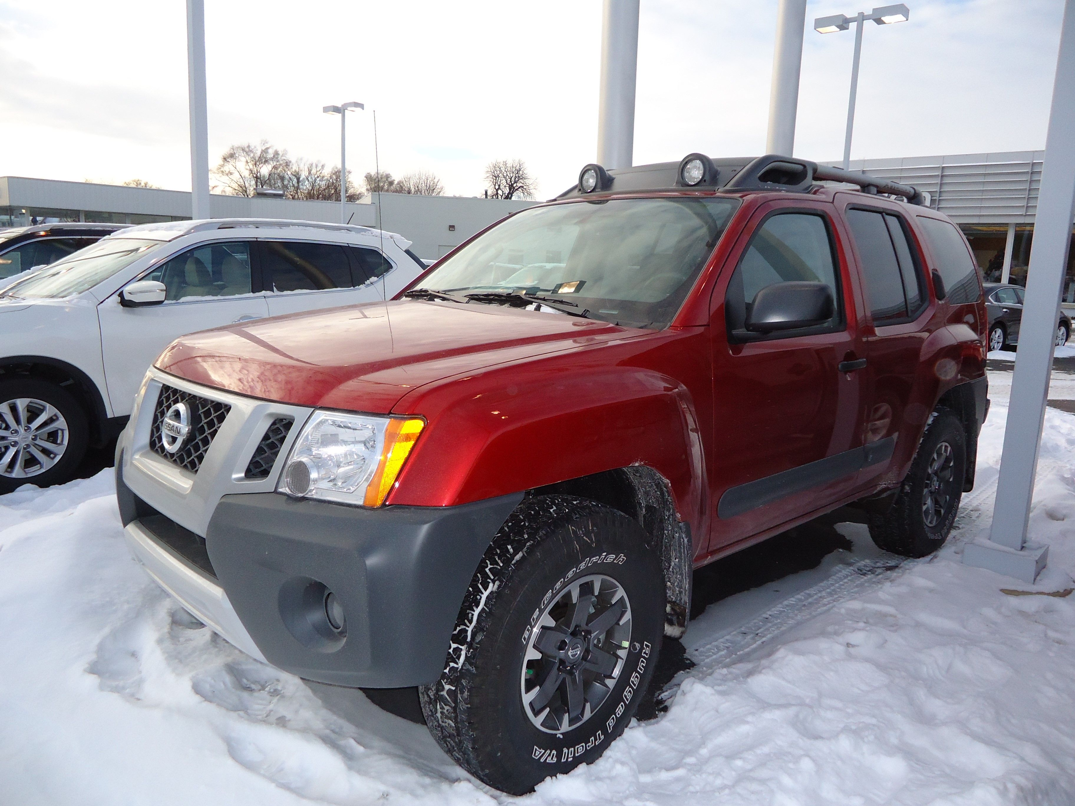 frontier nissan xterra pro cheap interior suv of review