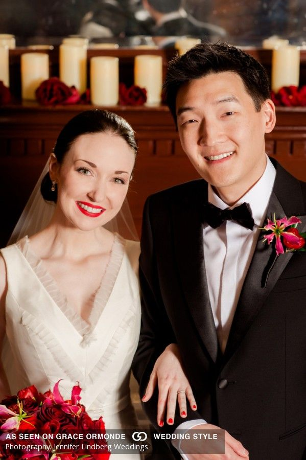 Chinese wedding austin texas asian influences red and gold