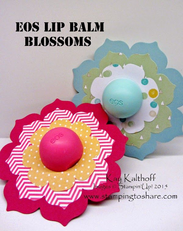 Decorated EOS Lip Balms For Easter Or Mothers Day With