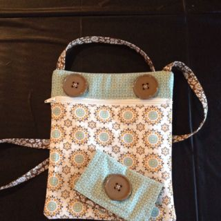 mini messenger bag & wallet to go with our Simply Scored bag!