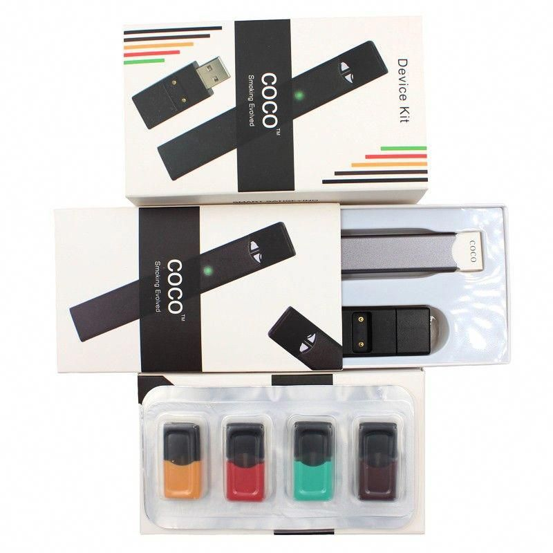 COCO Smoking Evolve Starter Kit with Empty Pods Cartridge