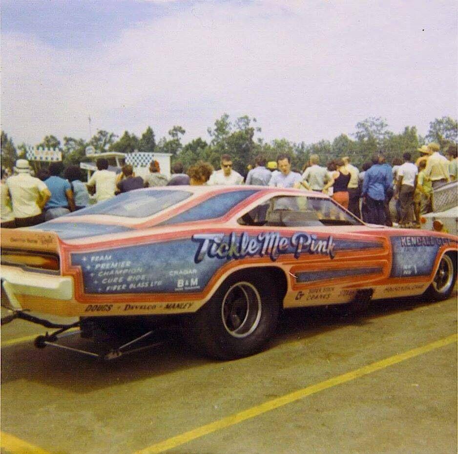 Vintage Drag Racing - Funny Car - Tickle Me Pink