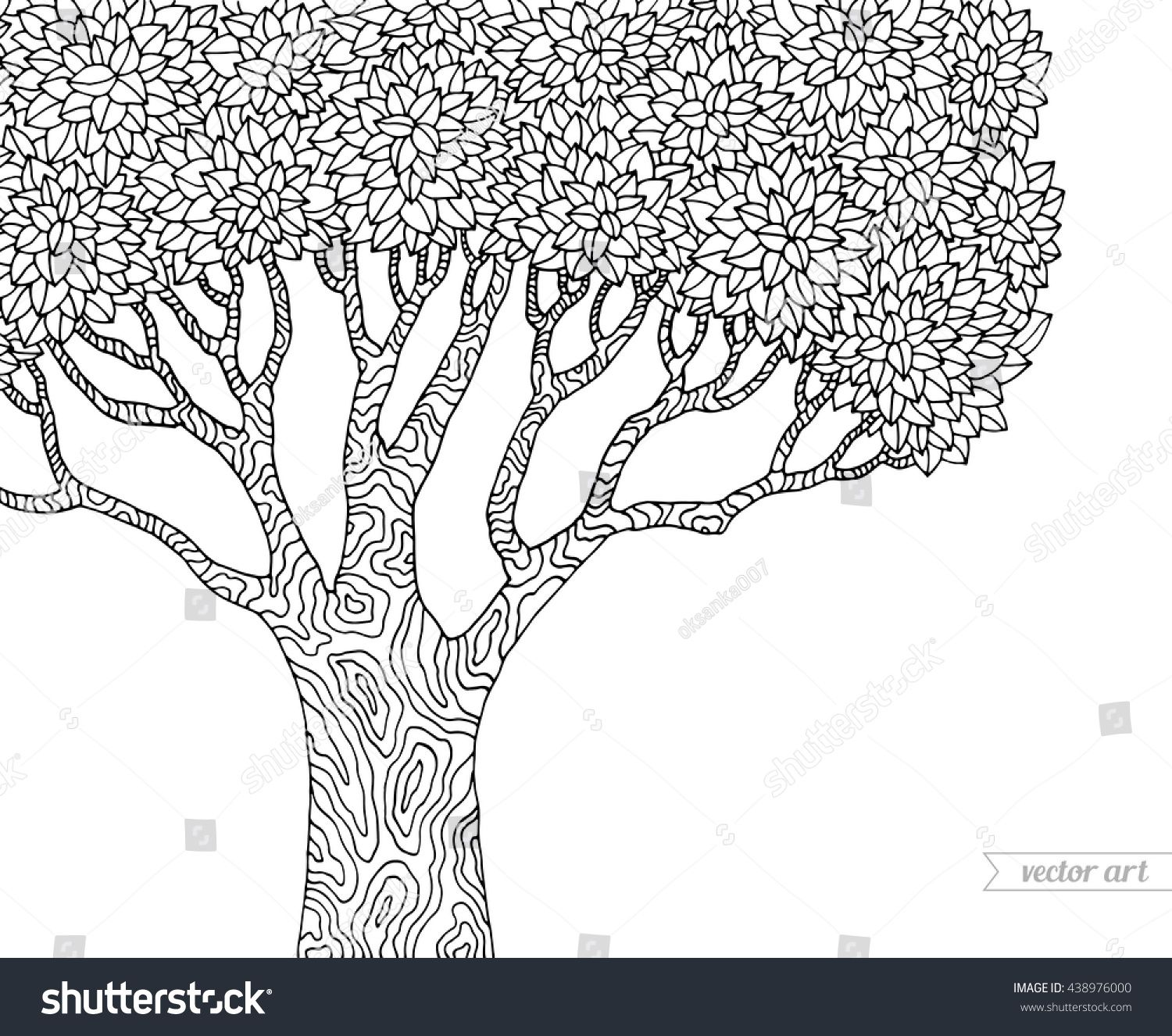 Forest Scene Coloring Pages