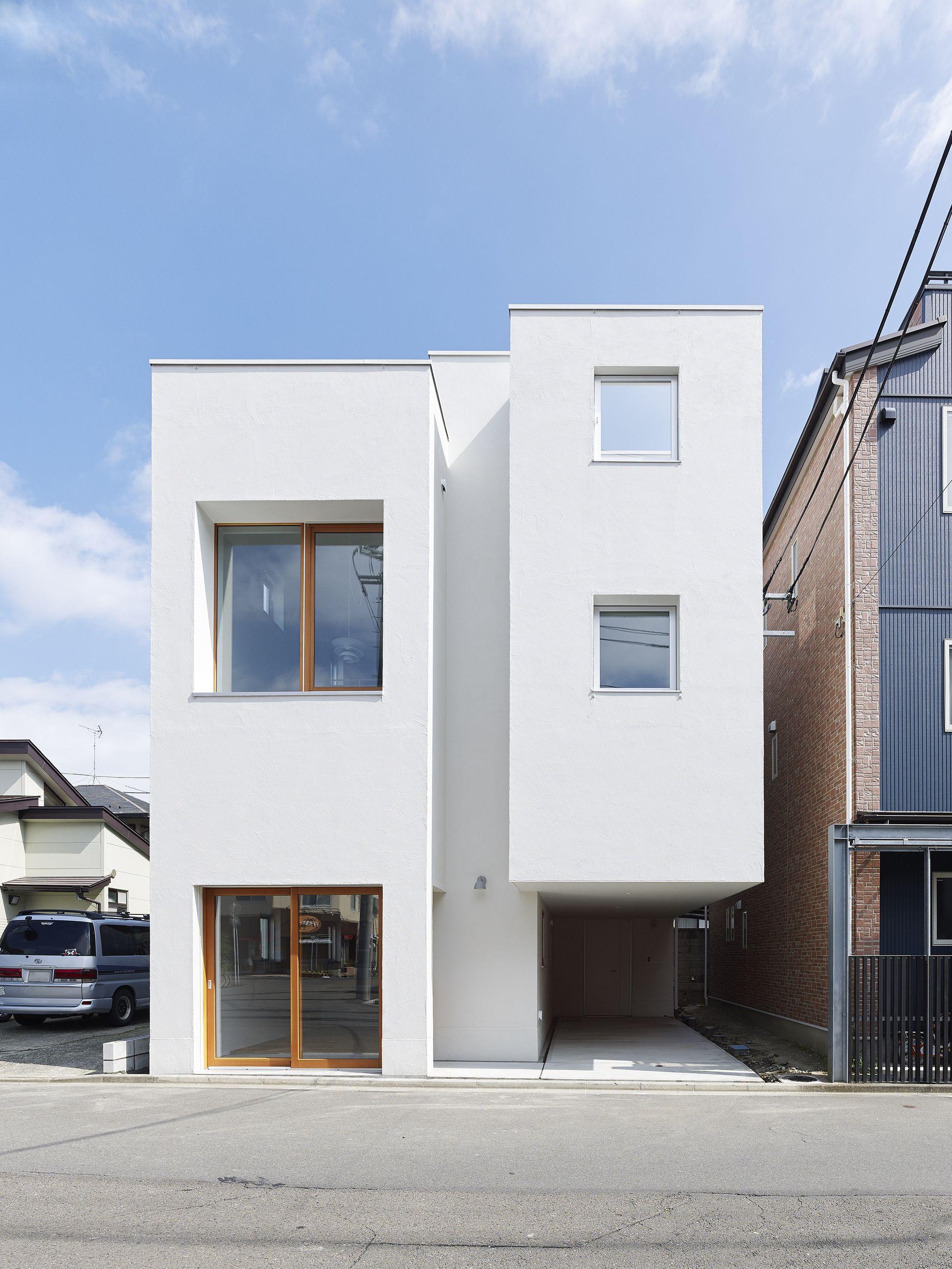 Km House Designed By Estudio Pablo Gagliardo: House Miyagino / Kazuya Saito Architects