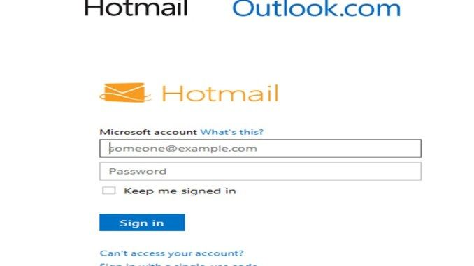 Hotmail Login Account Outlook Account Sign up in 2020