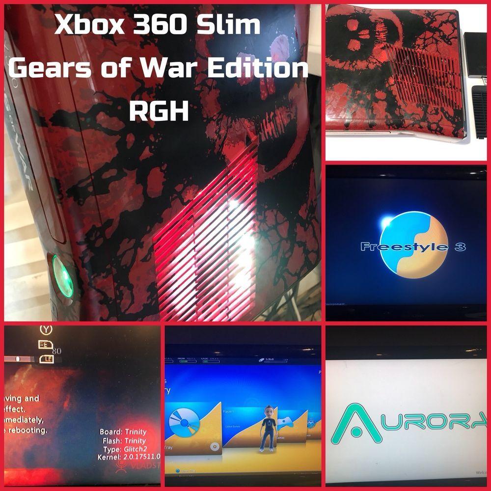 Gears of War 3 Limited Edition 320GB HDD RGH/JTAG 885370325348
