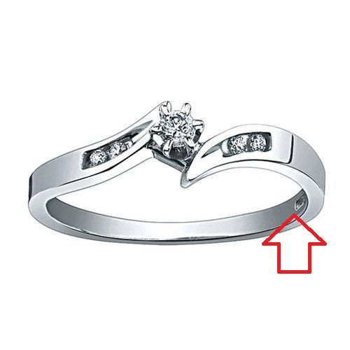 Jewelry Stampings What does P4SR mean Jewelry Wise Blog