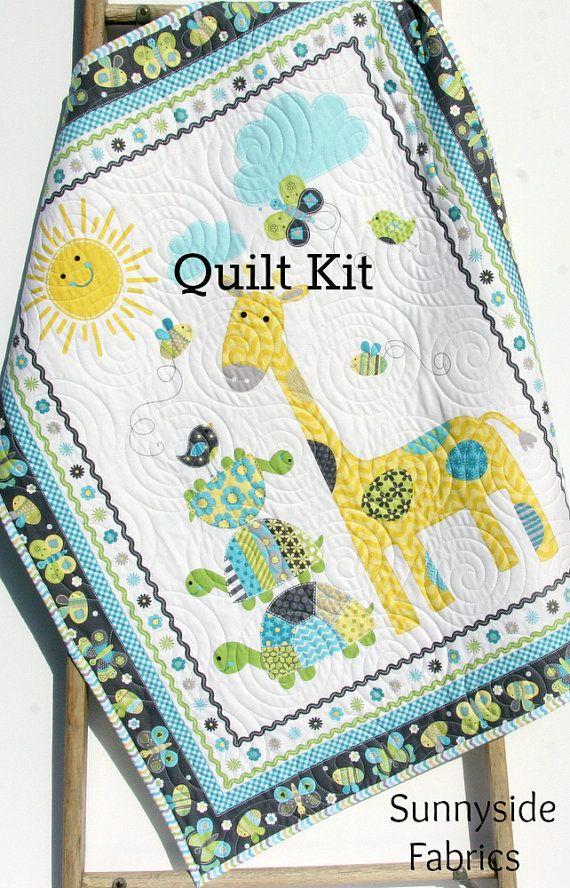 Quilt Kit, Bundle of Love, Panel, Quick Easy Fun, Beginner