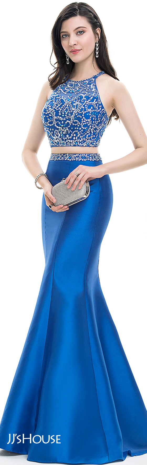 Jjshouse prom abiyeler pinterest prom trumpets and scoop neck