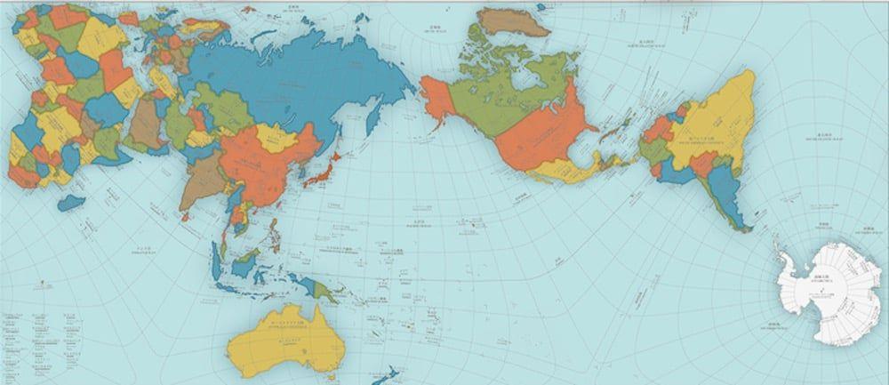 Mapa Mundial con Nombres y AuthaGraph, el mapa más exacto del mundo - http://www.ciapem.org.mx/mapa-mundial-con-nombres-y-authagraph-el-mapa-mas-exacto-del-mundo/