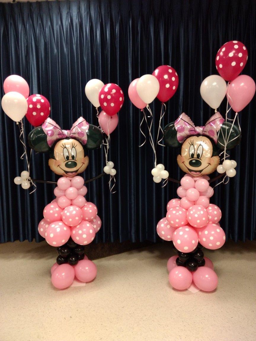 Minniemouse Minniemouseballoons Birthdayballoons Birthd Minnie Mouse Birthday Party Decorations Mini Mouse Birthday Decorations Minnie Mouse First Birthday