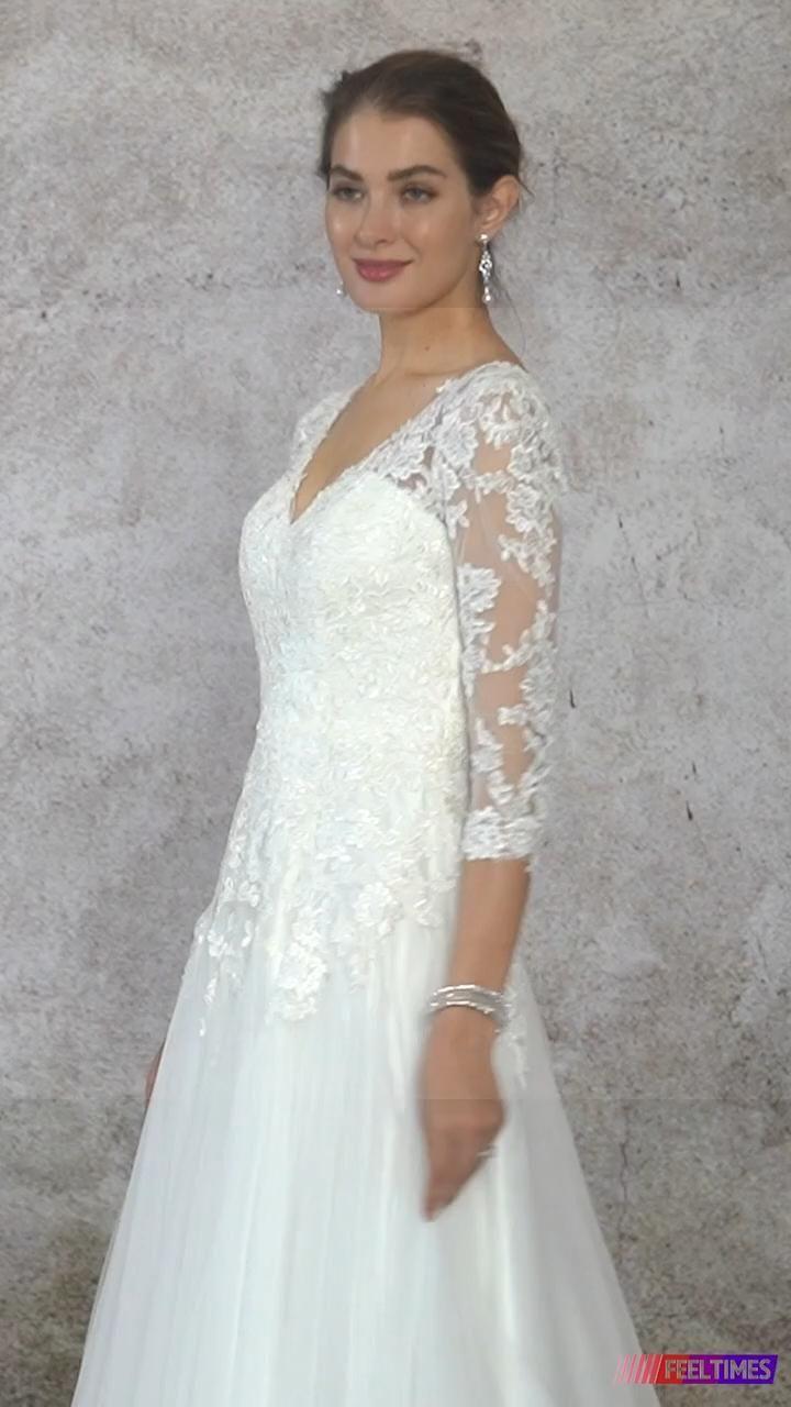 Boho Chic Tulle Wedding Dress