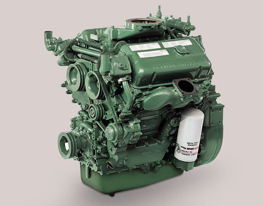 Best 25 detroit diesel ideas on pinterest diesel engine for General motors marine engines