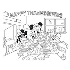Is Your Child A Great Fan Of Goofy The Dog Looking Or Some Goofy Colori Thanksgiving Coloring Book Mickey Mouse Coloring Pages Thanksgiving Pictures To Color